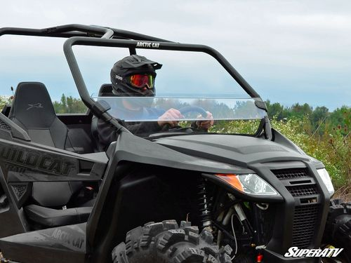 Arctic Cat Wildcat Trail Half Windshield