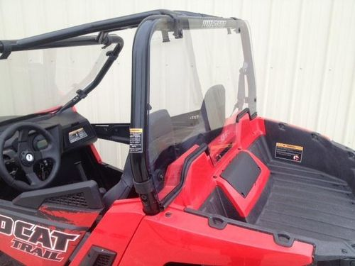 Wildcat Trail/ Sport Polycarbonate Cab Back / Dust Stopper