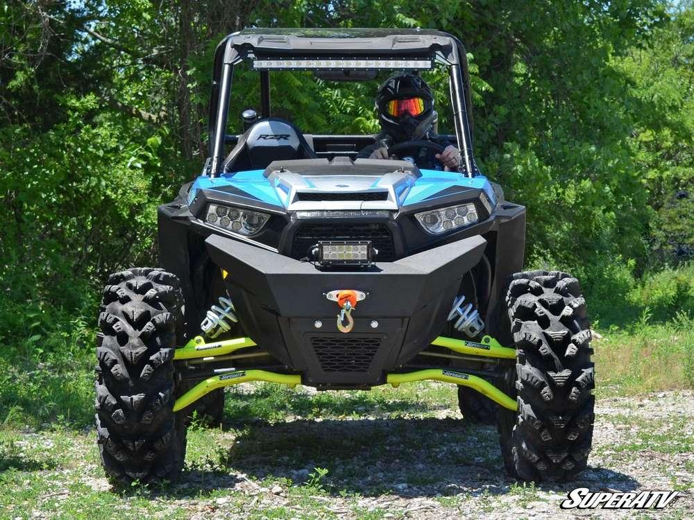 RZR 900/1000 Winch Ready Front Bumper - MUDTECH Inc  Custom