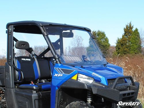 Polaris Ranger Fullsize 570/900/1000 Scratch Resistant Vented Full Windshield